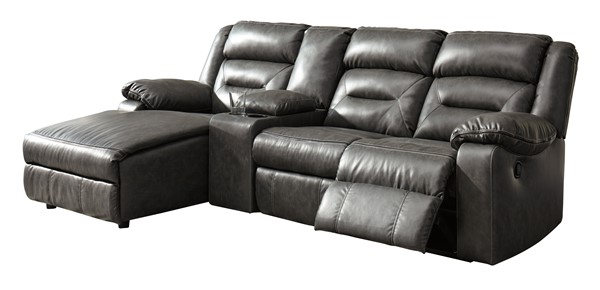 Ashley Furniture Coahoma 4pc LAF Sectionals With Console 5110-SEC2-VAR