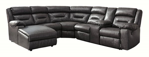Ashley Furniture Coahoma 6pc LAF Sectionals With Console 5110-SEC5-VAR