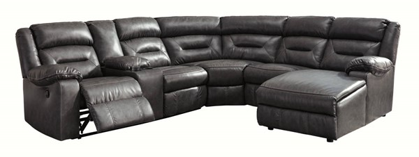 Ashley Furniture Coahoma 6pc RAF Sectionals With Console 5110-SEC14-VAR