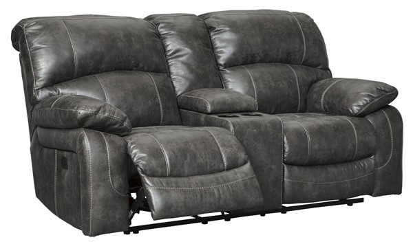 Ashley Furniture Dunwell Steel Power Reclining Loveseat