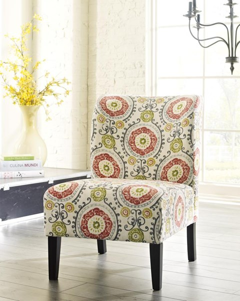 Honnally Contemporary Floral Accent Chair 5330260
