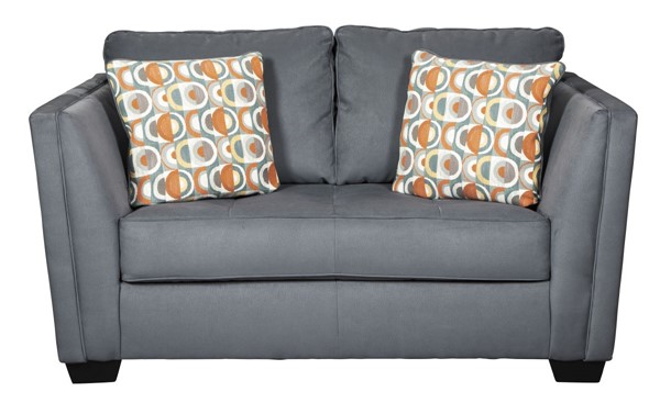 Ashley Furniture Filone Steel Fabric Loveseat 5340135
