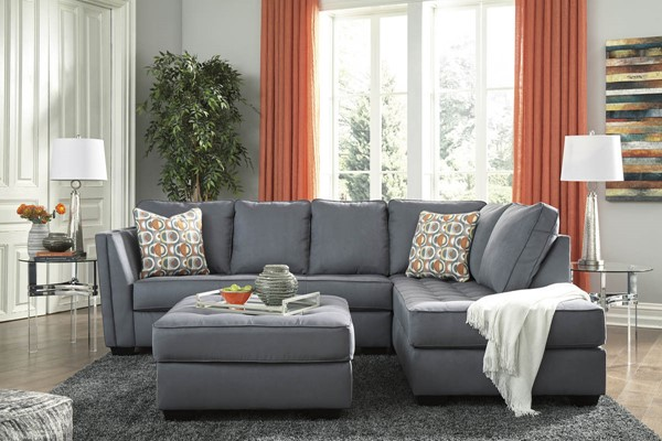 Ashley Furniture Filone Fabric RAF Sectionals With Ottoman 5340166-SEC-S-VAR1