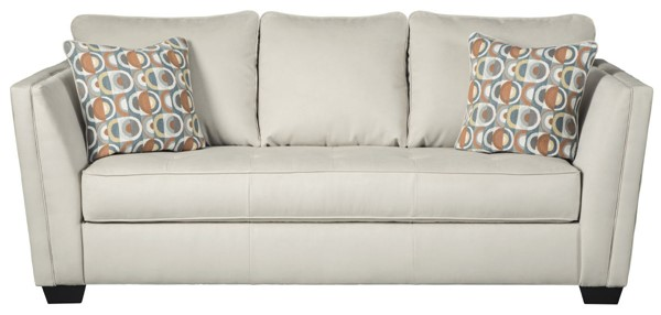 Ashley Furniture Filone Ivory Fabric Sofa 5340238