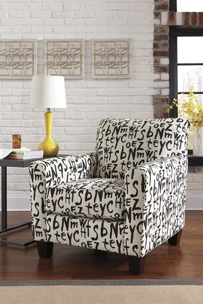 Brindon Contemporary Raven Accent Chairs 539012-VAR