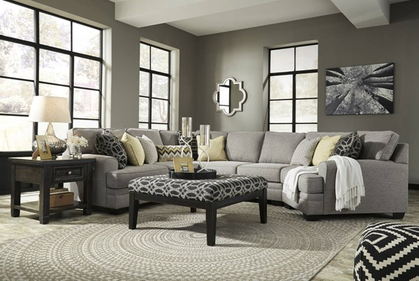 Ashley Furniture Cresson Cuddler and Ottoman Sectionals 54907-SEC-VAR8