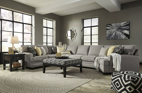 Ashley Furniture Cresson LAF Loveseat and Ottoman Sectionals 54907-SEC-VAR12