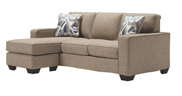 Ashley Furniture Greaves Driftwood Sofa Chaise 5510518