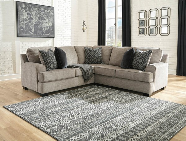 Ashley Furniture Bovarian Stone Fabric 2pc Sectional 5610348-SEC-S3