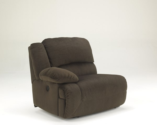 Toletta Chocolate Polyester LAF Zero Wall Power Recliner 5670158
