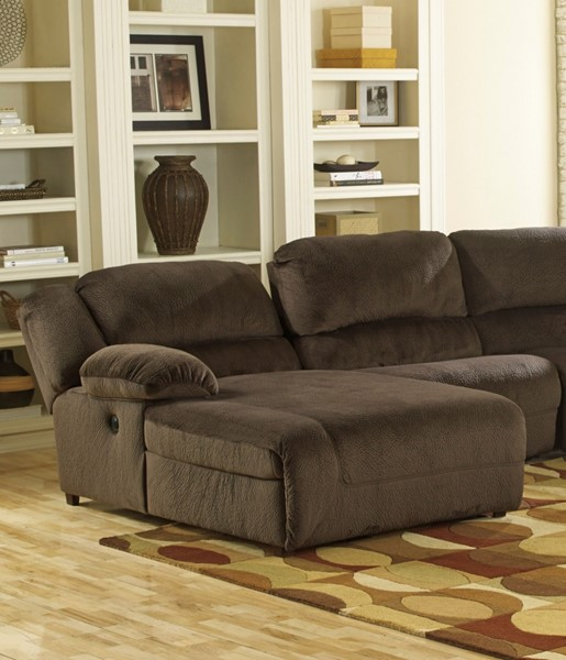 Toletta Chocolate Polyester LAF Press Back Chaise 5670105