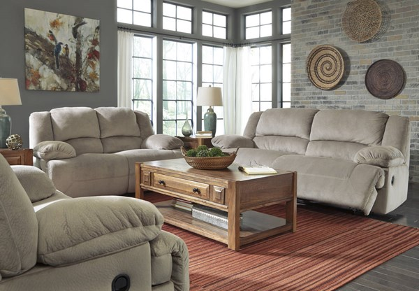 Toletta Contemporary Granite Fabric 3pc Power Living Room Set 56703-LR-S1