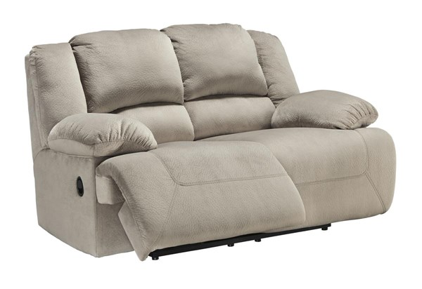 Toletta Contemporary Granite Reclining Loveseat 5670386