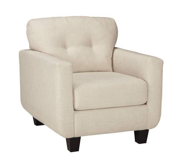 Drasco Contemporary Marble Solid Wood Fabric Chair 5980220