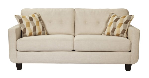 Drasco Contemporary Marble Solid Wood Fabric Sofa 5980238