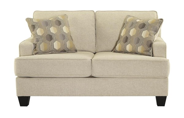 Brielyn Contemporary Fabric Cushion Back Loveseat 6140235