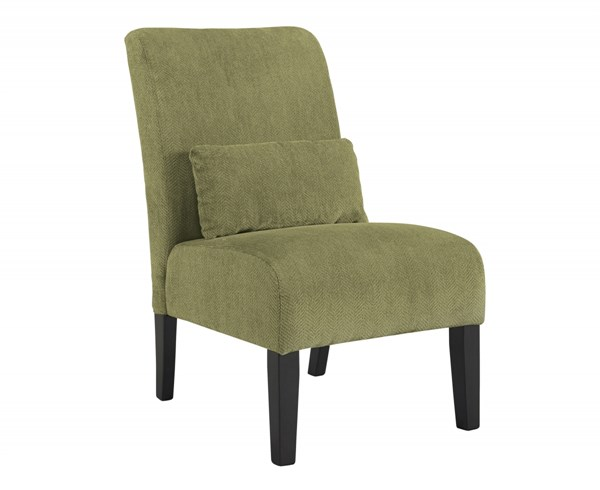 Annora Transitional Green Fabric Accent Chair 6160360
