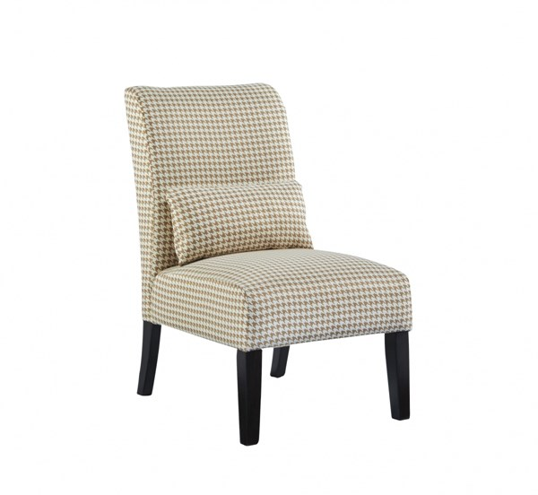 Annora Transitional Caramel Fabric Accent Chair 6160560