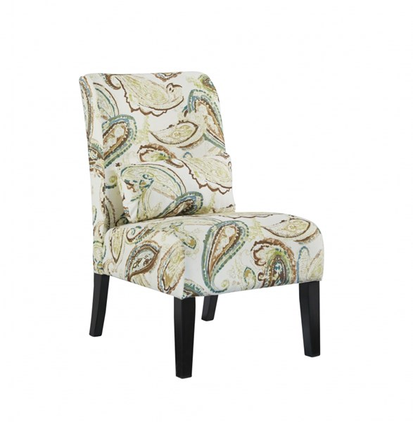 Annora Transitional Paisley Fabric Accent Chair 6160660