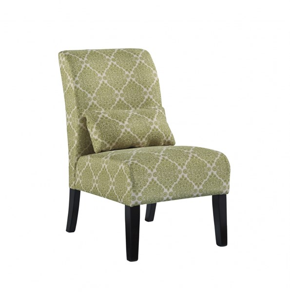 Annora Transitional Kelly Fabric Accent Chair 6160760