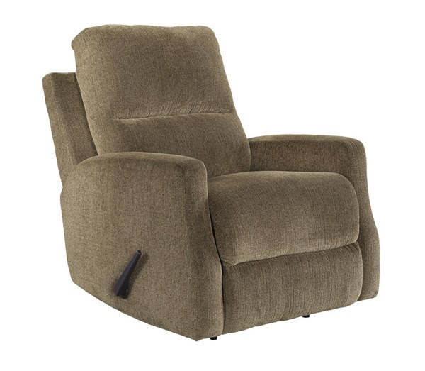 Fambro Contemporary Hazel Fabric Rocker Recliners 6370-REC-VAR