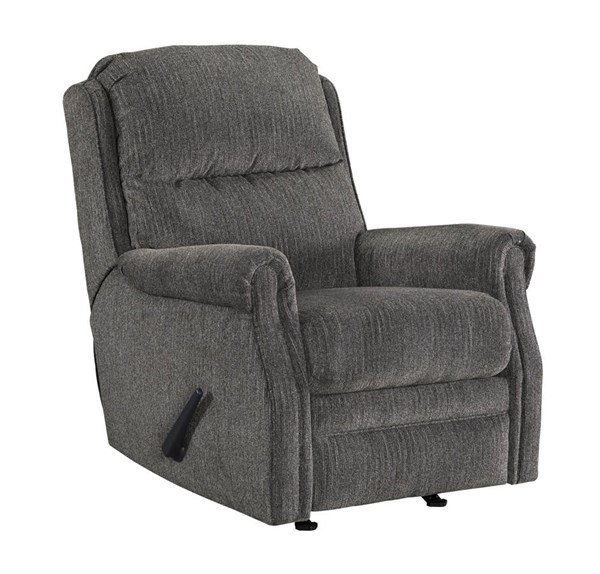 Earles Contemporary Flannel Fabric Rocker Recliners 6430-REC-VAR