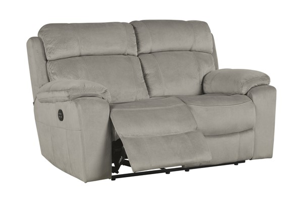 Uhland Contemporary Granite Fabric Loveseats 6480-LS-VAR