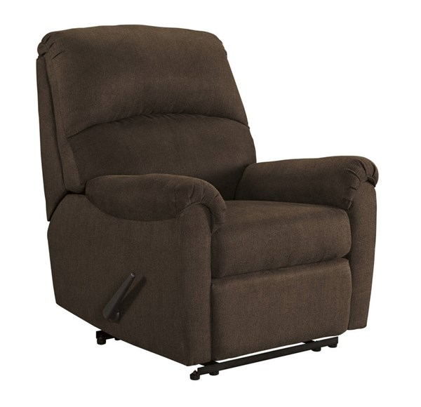 Otwell Contemporary Java Fabric Zero Wall Recliner 6660229