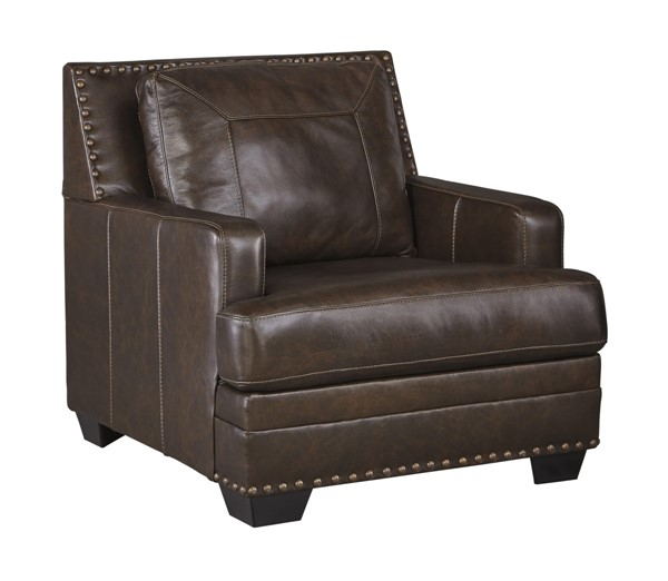 Corvan Contemporary Antique Track Arms & Pillow Back Chair 6910320