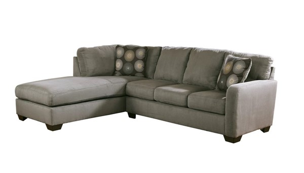Ashley Furniture Zella - Charcoal Left Side Chaise Sectional 70200-S