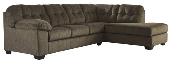 Ashley Furniture Accrington Earth RAF Chaise Sectionals ACCRINGTON-VAR16