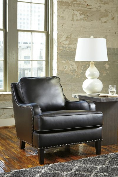 Laylanne Vintage Casual Black Accent Chair 7080421