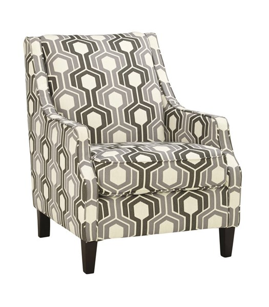 Guillerno Contemporary Alabaster Fabric Accent Chair 7180121