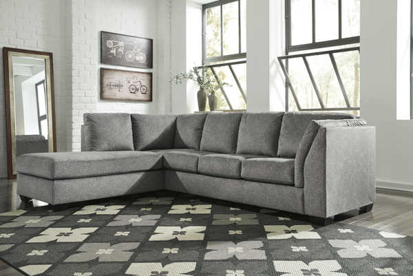 Ashley Furniture Belcastel Ash LAF Chaise Sectional