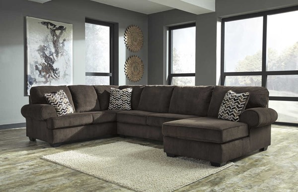 Ashley Furniture Jinllingsly Sectionals with RAF Chaise JINLLINGSLY-VAR7