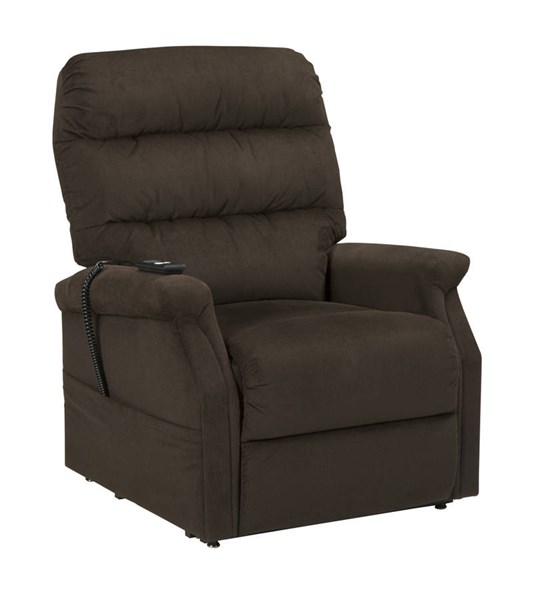 Brenyth Contemporary Chocolate Power Lift Recliner 7460212
