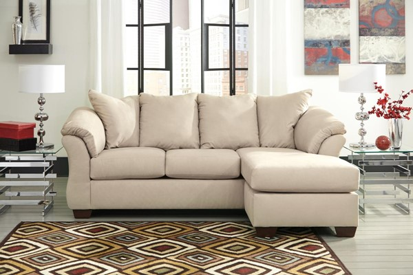 Ashley Furniture Darcy Stone Sofa Chaise 7500018