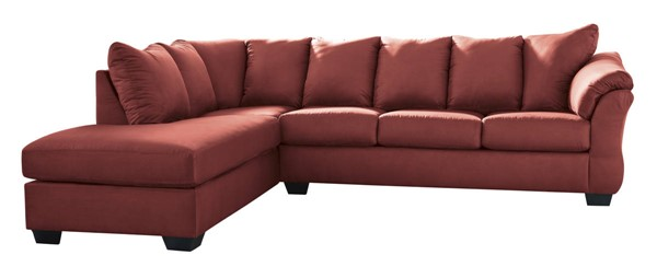 Ashley Furniture Darcy Salsa LAF Sectional 75001-SEC1