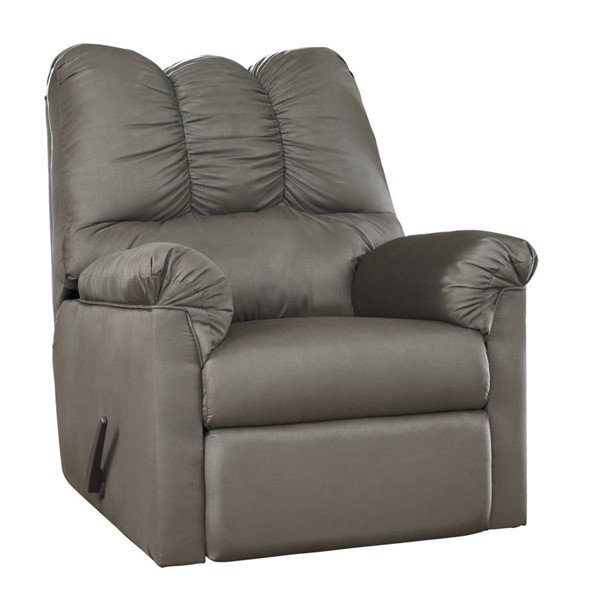 Ashley Furniture Darcy Cobblestone Rocker Recliner 7500525