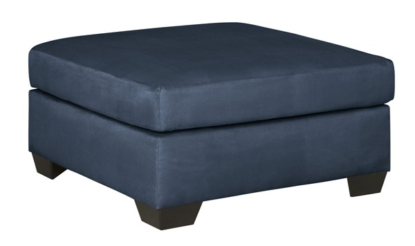 Ashley Furniture Darcy Blue Oversized Accent Ottoman 7500708