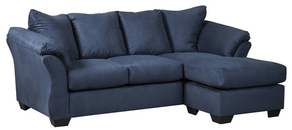 Ashley Furniture Darcy Blue Sofa Chaise 7500718