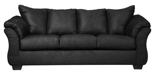 Ashley Furniture Darcy Black Sofa 7500838