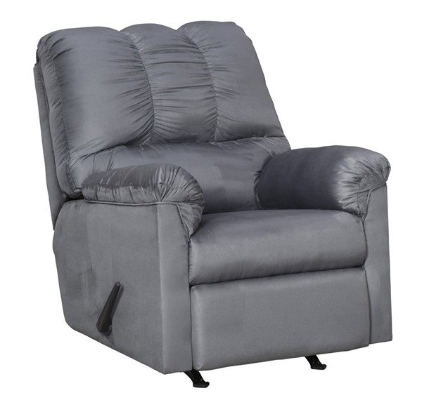 Ashley Furniture Darcy Steel Rocker Recliner The Classy Home