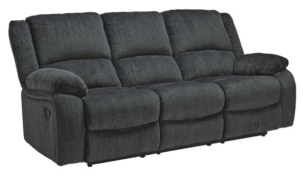 Ashley Furniture Draycoll Slate Reclining Sofa 7650488