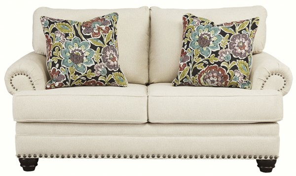 Ashley Furniture Harrietson Shell Fabric Loveseat 7660435