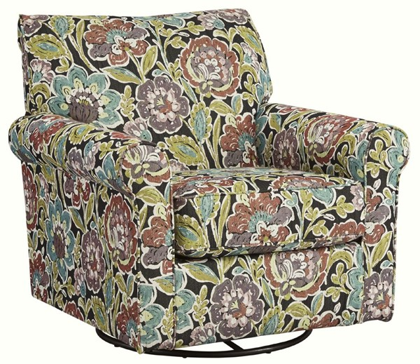 Ashley Furniture Harrietson Shell Fabric Glider Accent Chair 7660442