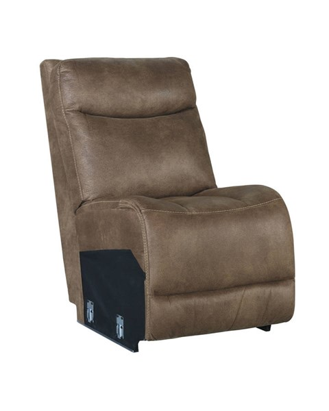 Valto Contemporary Saddle Armless Chair 7940046