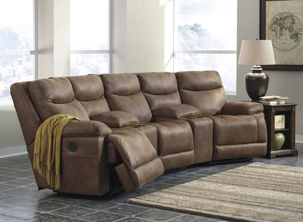 Valto Contemporary Saddle Sectional 79400-LR-S4