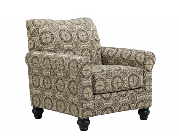 Ashley Furniture Breville Burlap Accent Chair The Classy