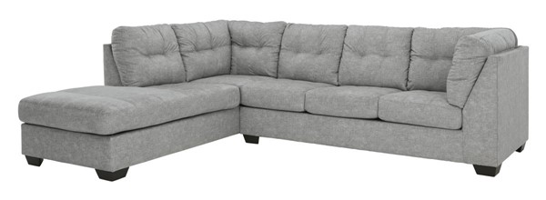 Ashley Furniture Falkirk Fabric 2pc Sectionals With LAF Chaise 80804-SEC-S-VAR1